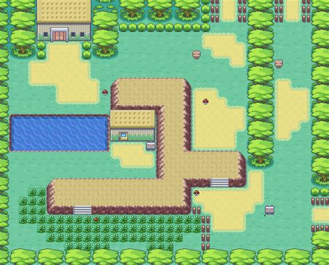 layout of safari zone in fire red pokemon firered and leafgreen game maps