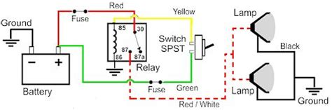 how to wire fog and driving lights harness wiring diagram