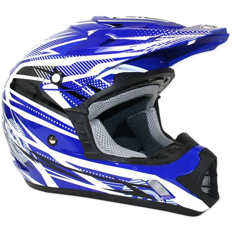 blue motocross helmet thh tx 12 tx12 9 bolt mx enduro moto x acu gold quad bike