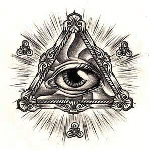 all seeing eye work towards a tattoo design we heart it