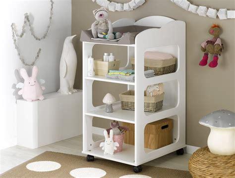 mueble cambiador venta de mueble cambiador con estantes y ruedas color blanco