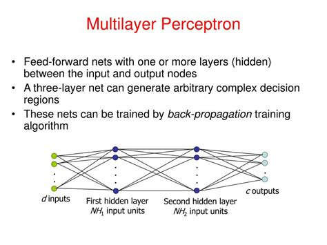 pattern classification using multilayer perceptron ppt pattern recognition vidya manian dept of electrical