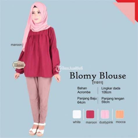 baju atasan wanita murah kekinian blomy blouse baju atasan wanita model kekinian harga murah