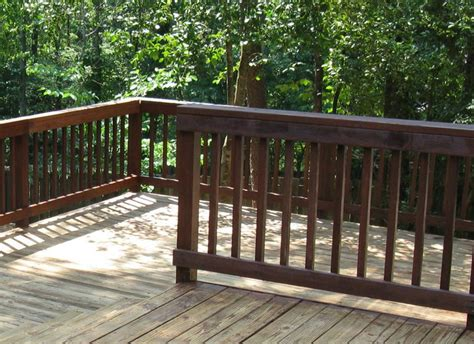 types of banisters types of deck railing ehow uk