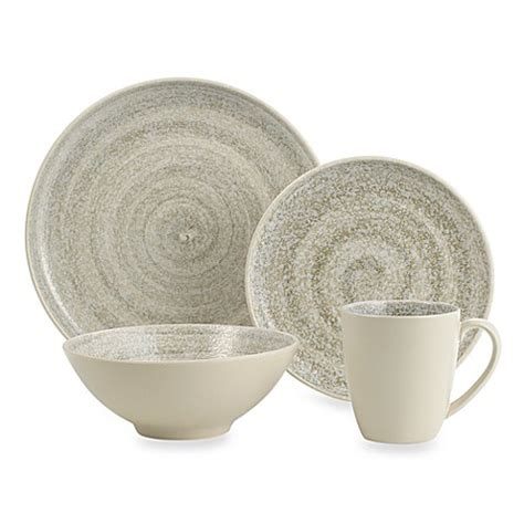 bed bath and beyond dishes sango soho cream 16 piece dinnerware set bed bath beyond