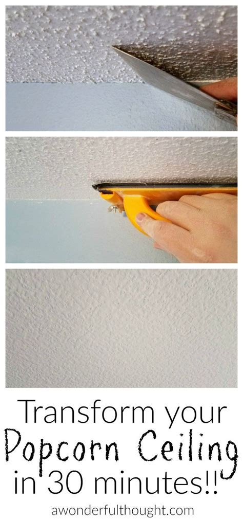 Easy Way To Remove Popcorn Ceiling by 25 Best Ideas About Popcorn Ceiling On Cover