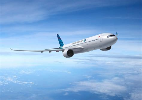 garuda indonesia  receive  aneo commercial aircraft airbus