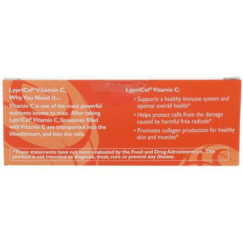 Acanthe C 30 Ml lypricel liposomal vitamin c 30 packets 0 2 fl oz 5 7 ml each iherb