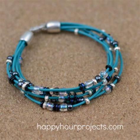25 best ideas about leather bracelet tutorial on