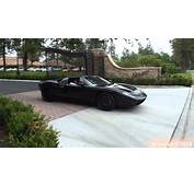 Satin Black Ford GT Acceleration  YouTube