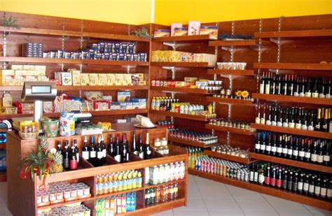 scaffali negozio alimentari negozi frutta verdura piani cassette legno abete naturale