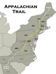 appalachian trail map how to prepare for a thru hike appalachian trail hike