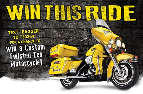 twisted tea 174 text to ride sweepstakes iron trader news - Twisted Tea Sweepstakes