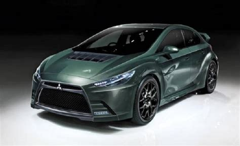 new mitsubishi evo 2015 mitsubishi evo concept evolution engine price