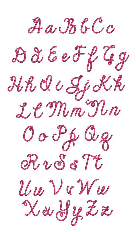 pinterest layout script cheerful script embroidery font design set is available