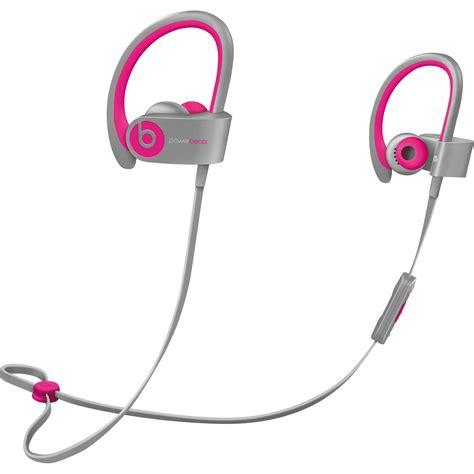 Headset Beats Kw beats by dr dre powerbeats2 wireless earbuds mhbk2am a b h