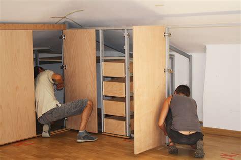 armadi per mansarda fai da te mobili da mansarda progetto di arredamento sala da bagno