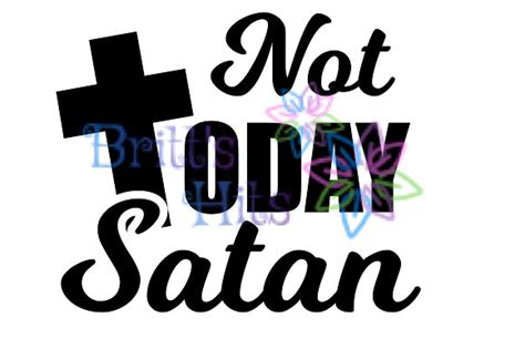 today satan svg graphic  britts hits creative