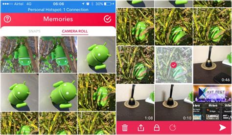 snapchat upload android upload pictures and story from gallery on snapchat