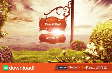 wedding templates for after effects free download videohive wedding videohive projects free download