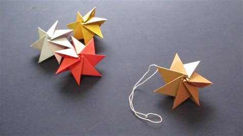 How To Make A Paper Ornament - free coloring pages how to origami ornament
