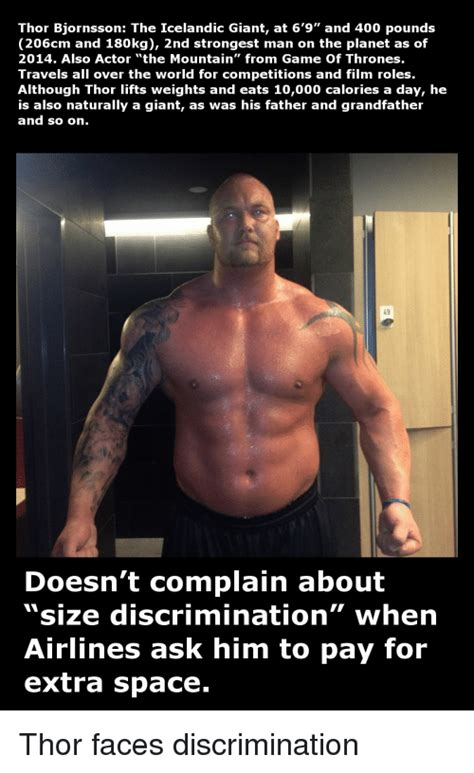 actor from game over man thor bjornsson the icelandic giant at 6 9 and 400 pounds