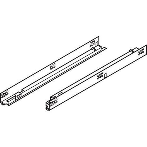 Blum Extension Drawer Slides by Blum 552h4570n 18in Tandem 552h Partial Ext Drawer Slide