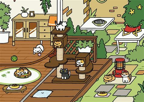 zen layout neko atsume guide to neko atsume new update version cats amino