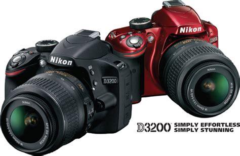 Kamera Nikon D3200 Kit 2 jual nikon d3200 kit2 vr black toko slr