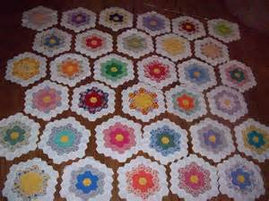 big d grandmother s flower garden quilt