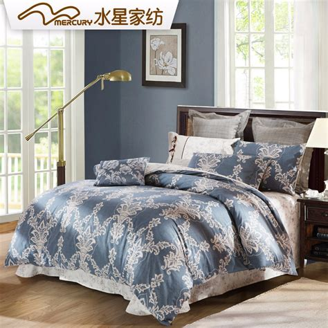 100 Cotton Bed Sets Mercury Home Textile 100 Cotton Reactive Printed Bedding Sets With 4pcs Bed Sheet King