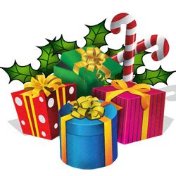 christmas presents pictures clipart best