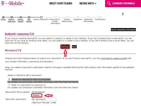 Mobile Repair Cover Letter by How To Apply For T Mobile At Tmobile Careers