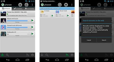 utorrent for android utorrent beta app arrives on android
