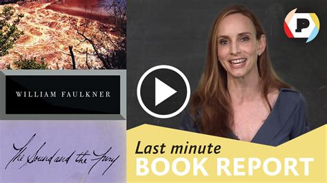 last minute book reports last minute book report the sound and the fury read it