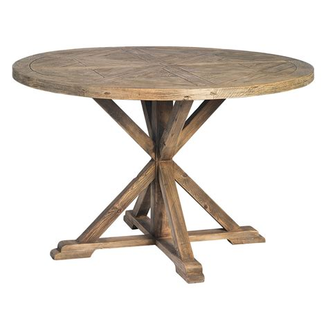 Round Dining Table Reclaimed Wood   Best Dining Table Ideas