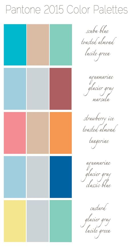 fresh colors 5 fresh fun color palettes for 2015 nashville wedding