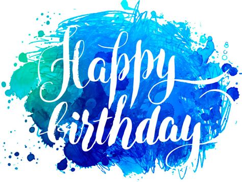 Happy Birthday to You Vector Lettering
