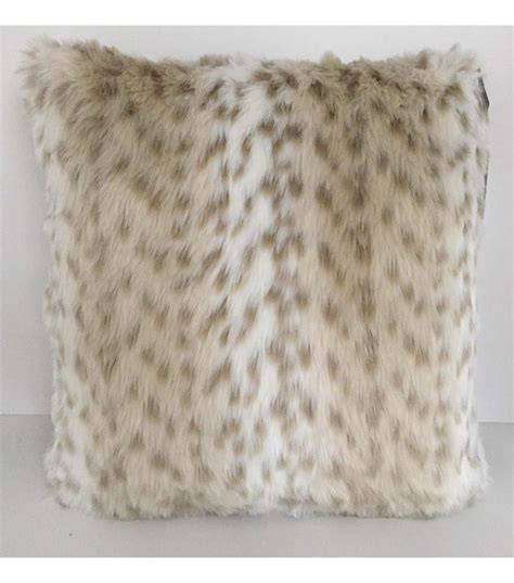 snow leopard faux fur comforter faux fur pillow snow leopard sf home pinterest