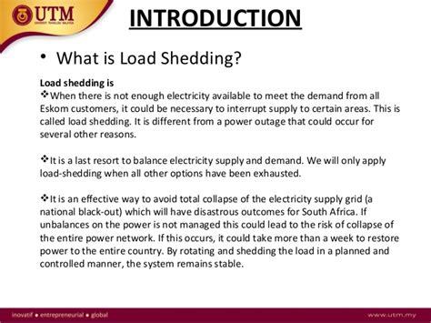 Electricity Load Shedding Essay by Problem Of Load Shedding Essay Rockingham