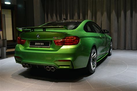 green bmw 540hp java green bmw m4 individual drops by abu dhabi