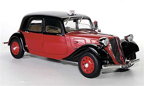 Taxi Auto Kaufen by Citroen Traction 11 B Taxi Rot Schwarz 1938 Solido