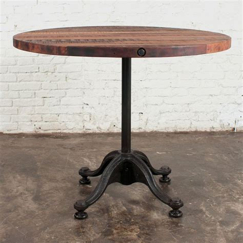 Reclaimed Wood Bistro Table Nuevo V42 Bistro Table Reclaimed Wood Patio Dining Tables At Hayneedle