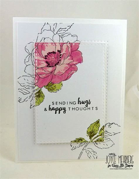 Handmade Flowers For Cards - 25 best ideas about flower cards on cards