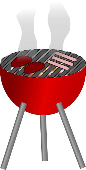barbecue clipart free barbecue grill clip at clker vector clip