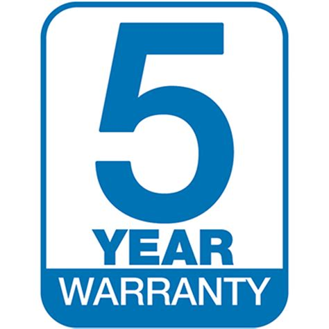new 5 year warranty on next generation hcf series