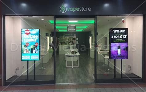 digital window videos dual screen retail digital signage window displays digital media systems