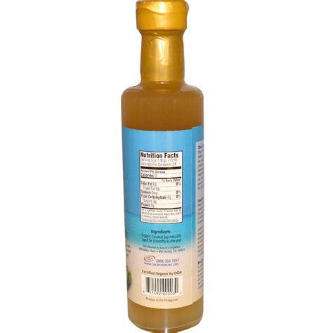 coconut secret raw coconut vinegar 12 7 fl oz 375 ml iherb com