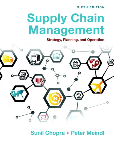 Mba Operations Management Course Description by Chopra Meindl Supply Chain Management Strategy