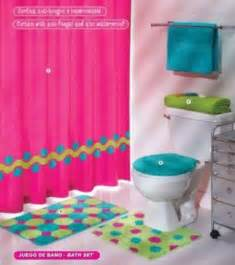 Interior and bedroom girls bathroom decor